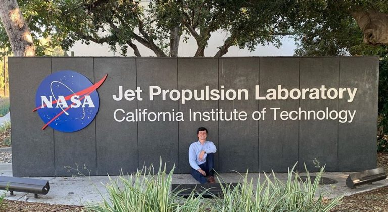 Brother Grayson Huggins at JPL